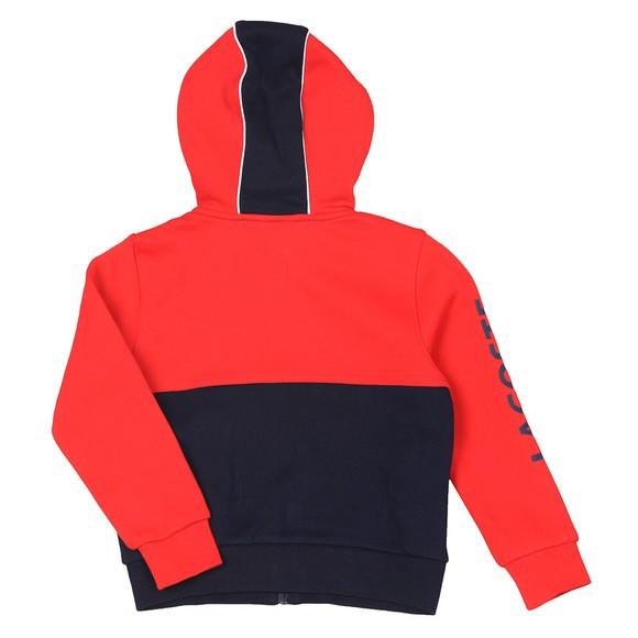 Lacoste Sport Boys Blue SJ9481 Hoody main image