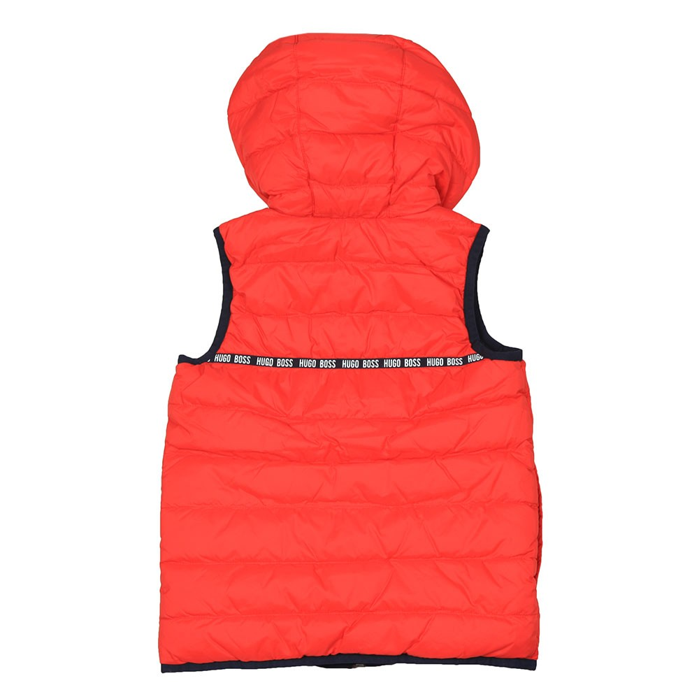 Boys J26383 Reversible Hooded Gilet main image