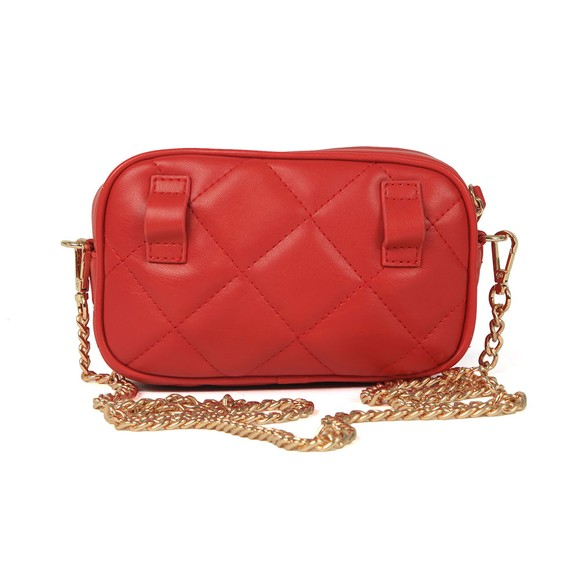 Valentino by Mario Womens Red Ocarina Crossbody Bag main image