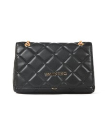 Valentino by Mario Womens Black Ocarina Satchel