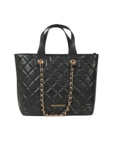 Valentino by Mario Womens Black Ocarina Tote Bag
