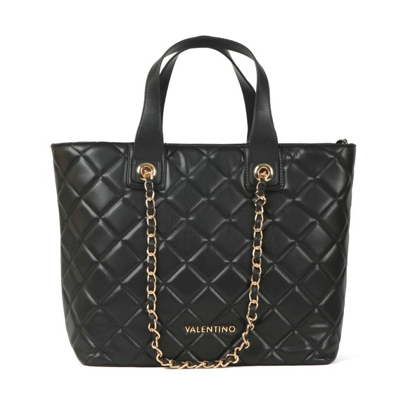 Valentino by Mario Womens Black Ocarina Tote Bag main image