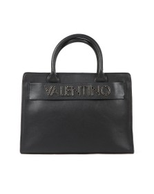 Valentino by Mario Womens Black Fisarmonica Tote Bag