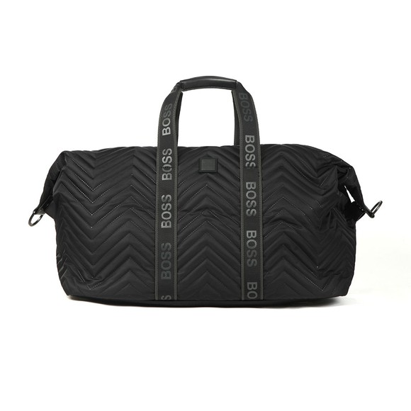 BOSS Mens Black Pixel Q_holdall
