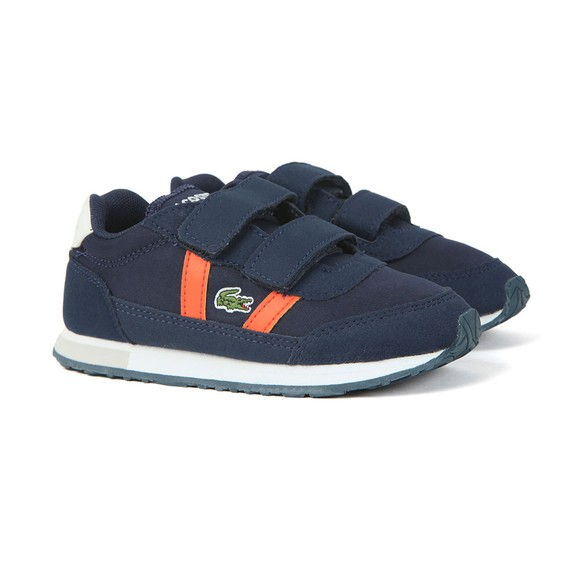 Lacoste Boys Blue Partner 319 Trainer main image