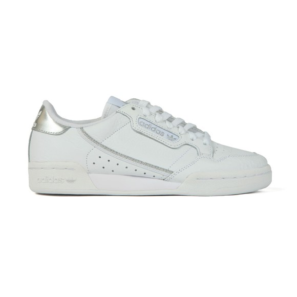 adidas Originals Womens White Continental 80's Trainer
