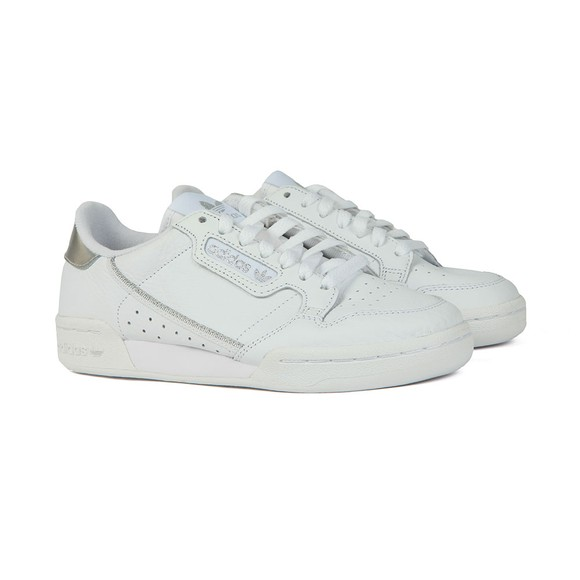 adidas Originals Womens White Continental 80's Trainer main image