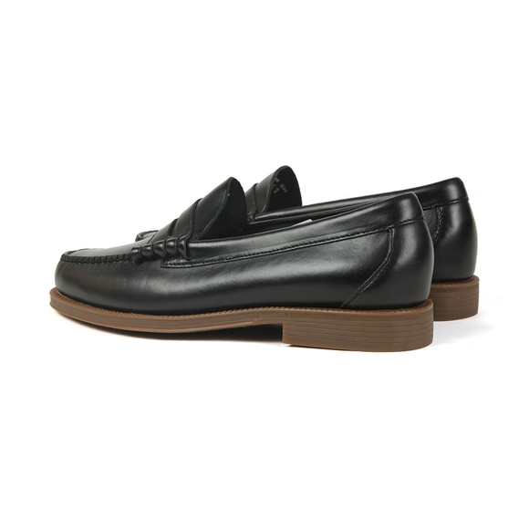 G H Bass & Co Mens Black Weejuns Larson Pull Up Loafer main image