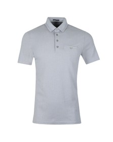 Ted Baker Mens Purple Textured Polo