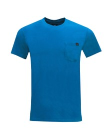 Edwin Mens Blue Pocket Crew T-Shirt