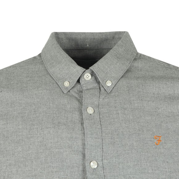 Farah Mens Grey Minshell Slim Shirt main image