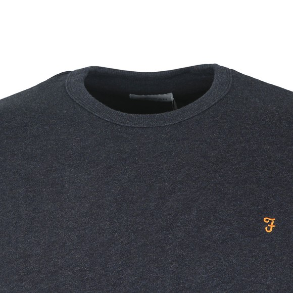 Farah Mens Blue Tim Crew Sweat main image