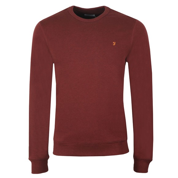 Farah Mens Red Tim Crew Sweat main image