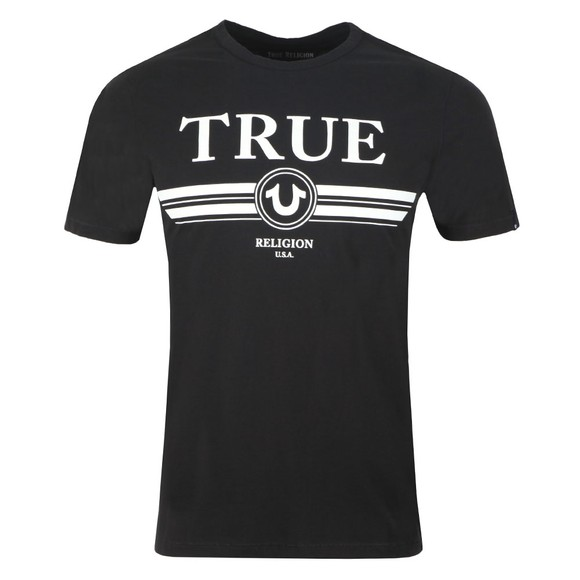 True Religion Mens Black Trucci T Shirt