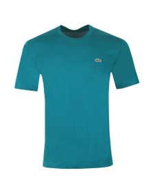 Lacoste Sport Mens Green TH7618 Plain T-Shirt