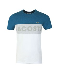 Lacoste Sport Mens Blue TH8426 Tee