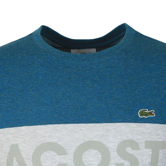 Lacoste Sport Mens Blue TH8426 Tee main image