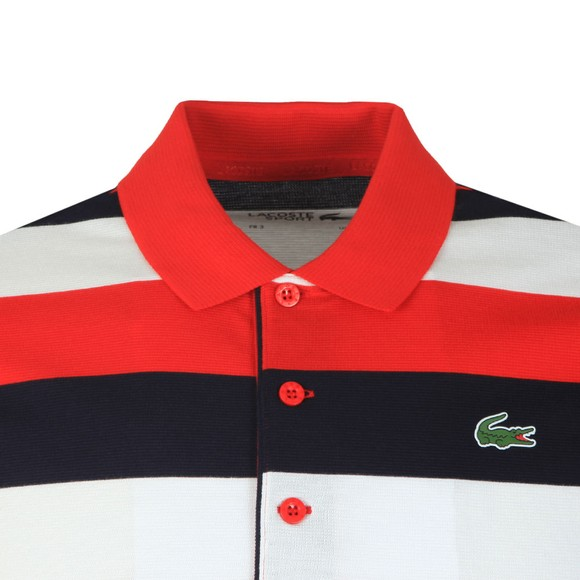 Lacoste Sport Mens Red YH8553 Polo main image