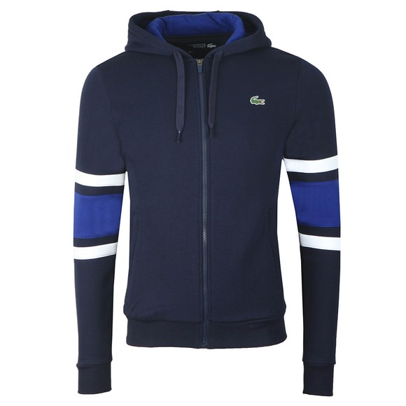 Lacoste Sport Mens Blue SH8658 Full Zip Hood main image