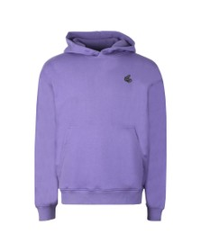 Vivienne Westwood Anglomania Womens Purple Small Badge Overhead Hoody