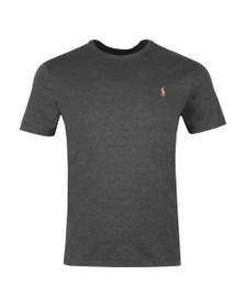 Polo Ralph Lauren Mens Grey Custom Slim Fit Pima Cotton T Shirt