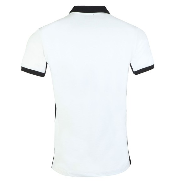 Diesel Mens White Skatt Polo Shirt main image