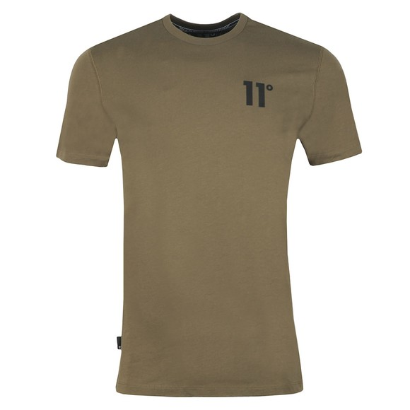 Eleven Degrees Mens Beige Core Tee main image