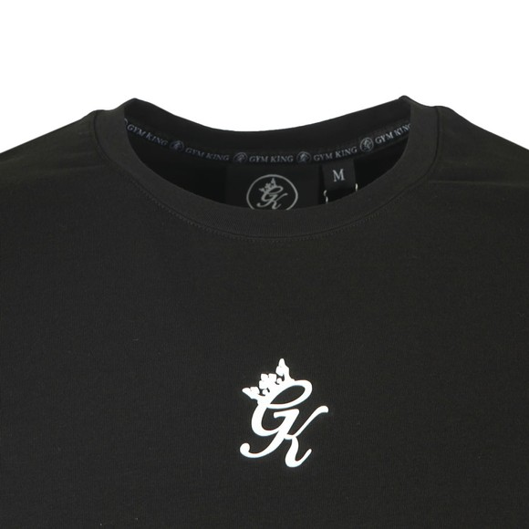 Gym King Mens Black Origin Tee main image