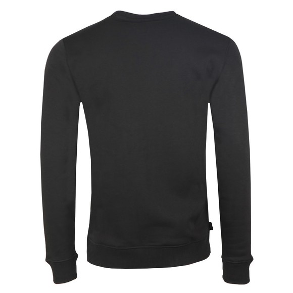 Gym King Mens Black Basis Crew Sweat main image