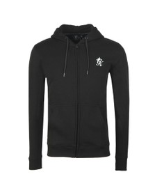 Gym King Mens Black Basis Full Zip Sweat
