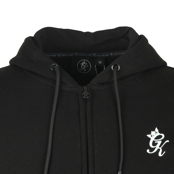 Gym King Mens Black Basis Full Zip Sweat main image