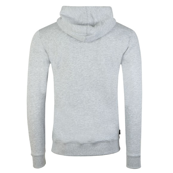 Gym King Mens Grey Basis Full Zip Sweat main image