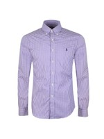 Slim Fit Stretch Gingham Shirt