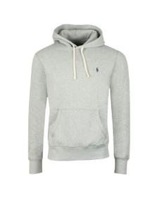 Polo Ralph Lauren Mens Grey Overhead Fleece Hoody