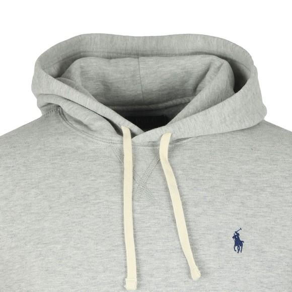 Polo Ralph Lauren Mens Grey Overhead Fleece Hoody main image