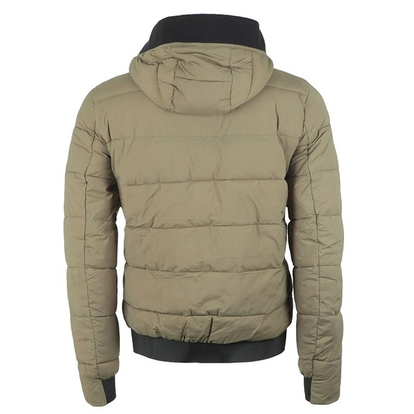 Calvin Klein Jeans Mens Green Padded Stretch Puffer main image