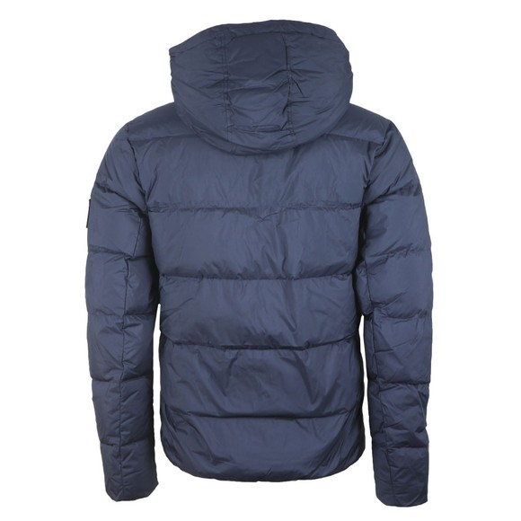 Calvin Klein Jeans Mens Blue Hooded Down Jacket main image