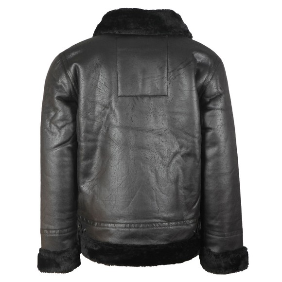 Alpha Industries Mens Black B3 Flight Jacket main image