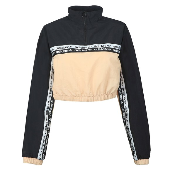 adidas Originals Womens Pink Cropped Sweatshirt main image