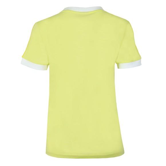 adidas Originals Womens Yellow 3 Stripes T-Shirt main image