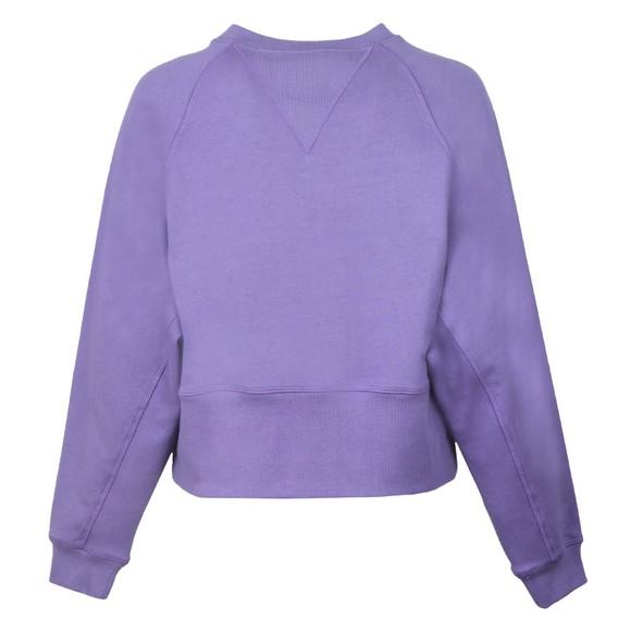 Vivienne Westwood Anglomania Womens Purple Badge Sweatshirt main image