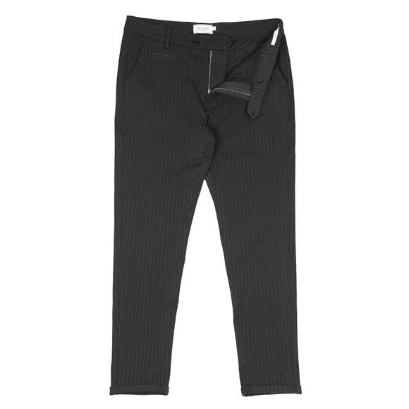 Les Deux Mens Charcoal/Olive Green Como Suit Pant