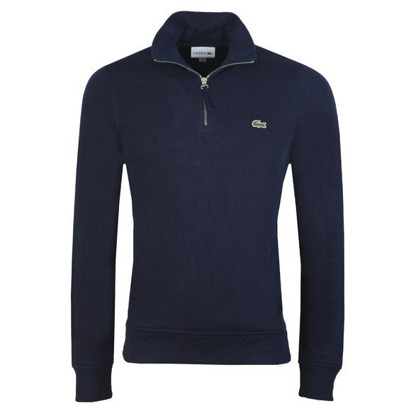 Lacoste Mens Blue SH8891 1/2 Zip Sweatshirt main image