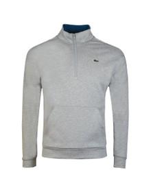 Lacoste Sport Mens Grey SH8659 1/2 Zip Sweat