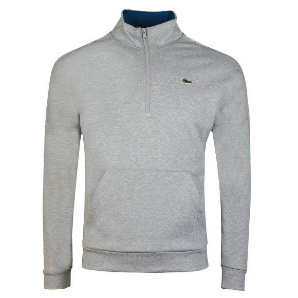 Lacoste Sport Mens Grey SH8659 1/2 Zip Sweat