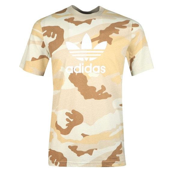 adidas Originals Mens Multicoloured Camo T-Shirt main image