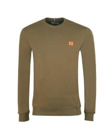 Les Deux Mens Green Piece Sweatshirt