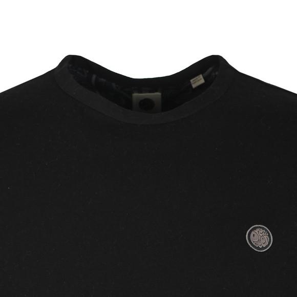 Pretty Green Mens Black L/S T-Shirt main image