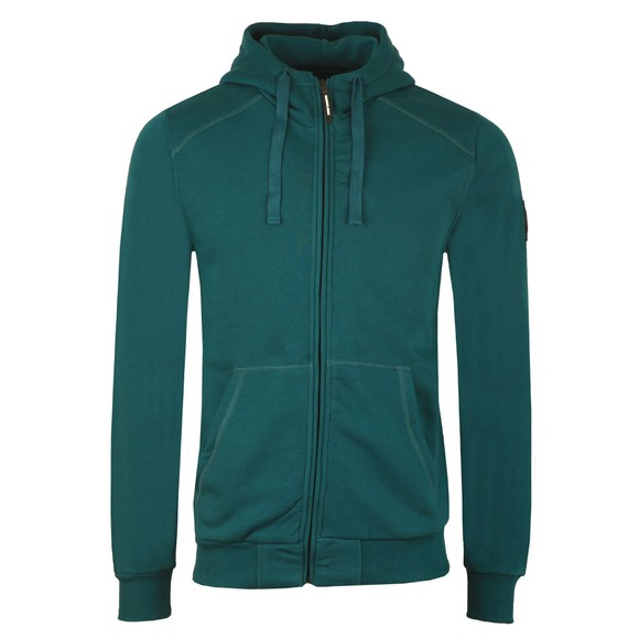 Marshall Artist Mens Green Siren Full Zip Hoodie main image