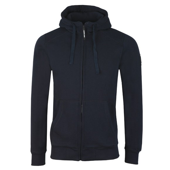 Marshall Artist Mens Blue Siren full zip hood main image